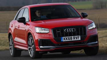 Audi SQ2 - Front cornering