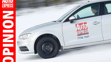 AE Opinion tyre test winter driving