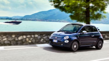 Fiat 500 Riva - front tracking 2