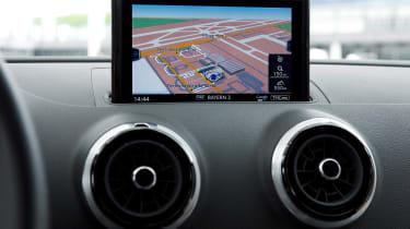 Audi A3 Sportback - sat-nav
