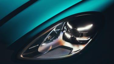 Porsche Macan - front light detail