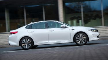 New Kia Optima 2015 side