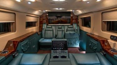 Becker Ford Transit Jet Van interior