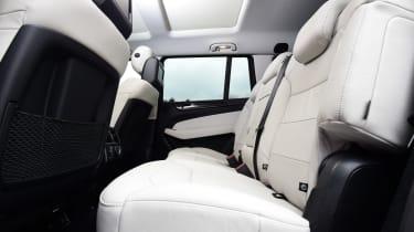 Mercedes GLS 350d AMG 2016 - rear seats