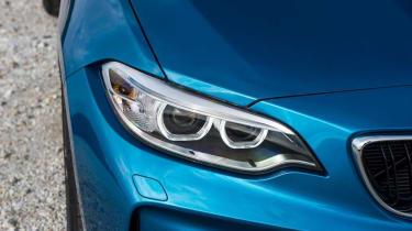 BMW M2 - front light