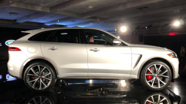 Jaguar F-Pace SVR - launch side static