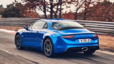 Alpine A110 - rear action