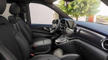 Mercedes EQV - cabin