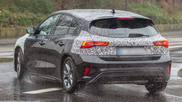 Ford Focus facelift 2021 spy