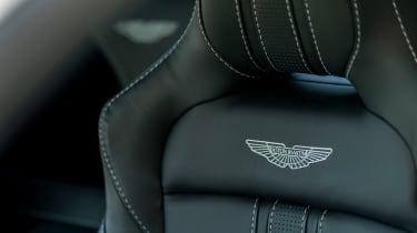 Aston Martin Vantage - seat detail