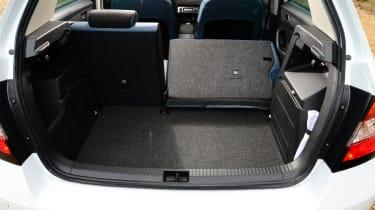 Skoda Fabia - boot seats folded