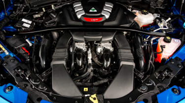 Alfa Romeo Stelvio Quadrifoglio - engine
