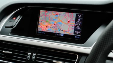Audi A5 1.8 TFSI sat-nav