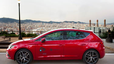 SEAT Leon Cristobal - side