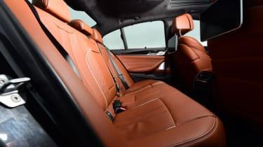 Alpina D5 S rear seats