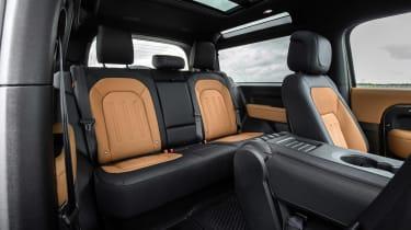 Land Rover Defender - rear seats