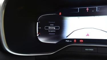 Citroen C5 Aircross - drive mode