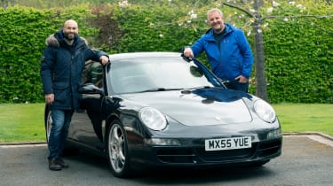 Porsche 911 with previous owner Maher Al-Ausi