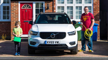 Volvo XC40 Recharge T5 long termer - first report header