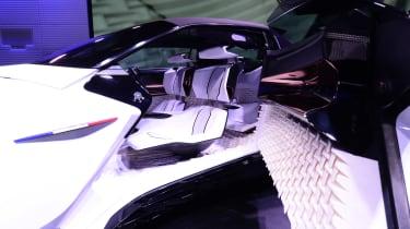 Peugeot Fractal concept car inside