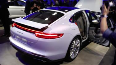 Porsche Panamera - Paris rear