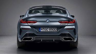BMW 8 Series Gran Coupe - full rear