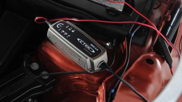 Hibernation feature - battery charger