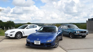 Mazda rotary feature - header