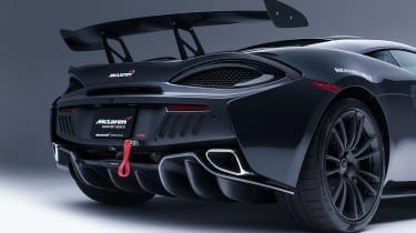 McLaren MSO X - spoiler