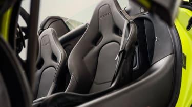 McLaren 600LT Spider - seats