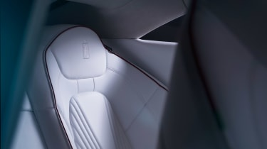 Karma GT Pininfarina - seat detail