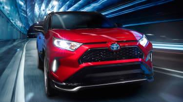 Toyota RAV4 Prime - full front tracking