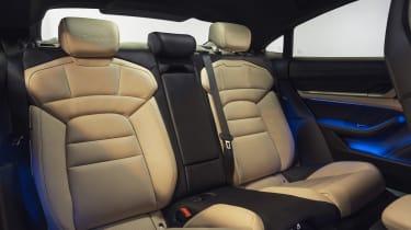 Porsche Taycan - rear seats