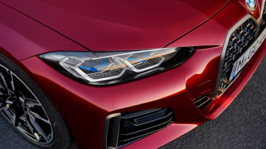 BMW 4 Series Gran Coupe - front light red
