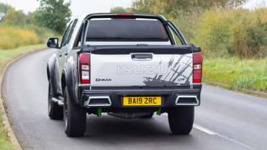 Isuzu D-Max XTR - rear cornering