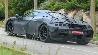 McLaren 650S replacement - spyshot rear