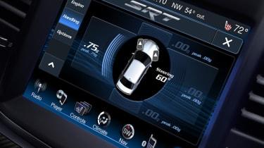 Chrysler 300C SRT8 sat-nav