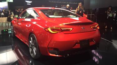 Infiniti Q60 - rear show