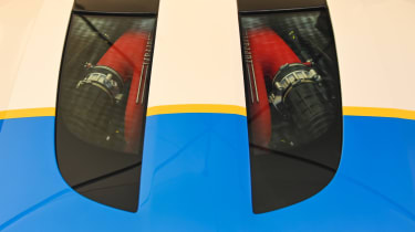 Ferrari SP3JC - engine cover Goodwood 2019