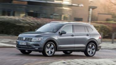 Volkswagen Tiguan Allspace - front cornering