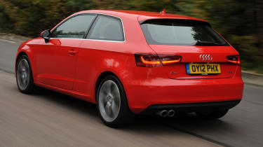 Audi A3 rear tracking
