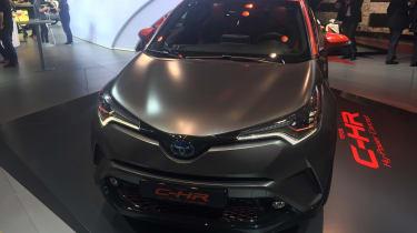 Toyota C-HR Hy-Power - Frankfurt full front