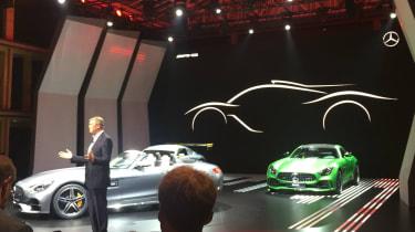 Mercedes-AMG hypercar teaser pic