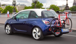 Vauxhall Adam FlexFix bike rack rear