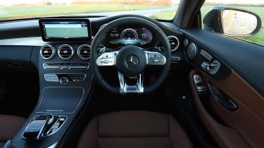 mercedes-amg c 43 coupe interior