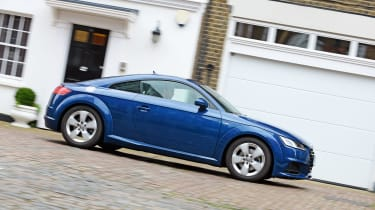 Audi TT long-termer - panning