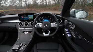 Mercedes C-Class Estate - interior