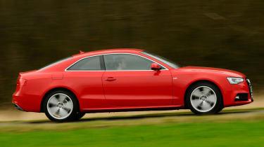 Audi A5 1.8 TFSI panning
