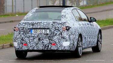 New Mercedes C-Class - spy shot 13