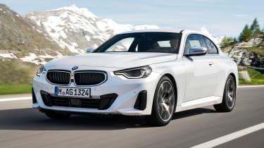 BMW 220i - front